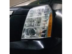 Устранение запотевания фары Cadillac Escalade