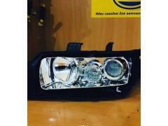 Замена штатных линз Honda Accord 7 на биксеноновые линзы Galaxy Q5