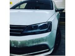Установка биксеноновых линз Galaxy Q5 на Volkswagen Jetta