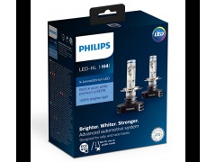 Philips LED  X-tremeUltinon LED H4 6500K 12V 12901HPX2 (2шт.)