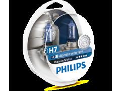 Галогеновая лампа Philips H7 Diamond Vision 5000К набор