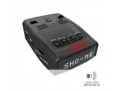 Радар-детектор c GPS Sho-Me G800-STR (Blue, Red, White)