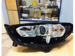 Замена стекла + чистка фары Ford Fusion USA