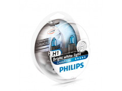 Галогеновая лампа Philips H1 Crystal Vision 4300К набор