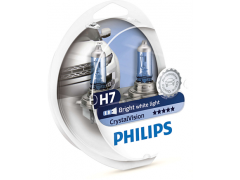Галогеновая лампа Philips H7 Crystal Vision 4300К набор
