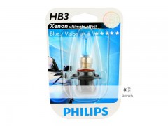 Галогеновая лампа Philips HB3 BlueVision Ultra 4000К блистер