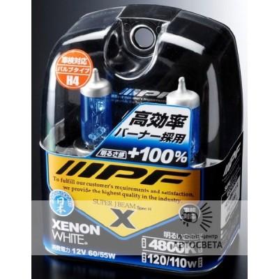 Лампа IPF H11 VH65 XENON WHITE 4800K +100%