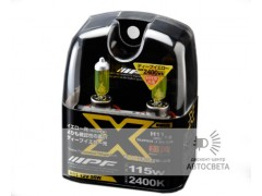 Лампа IPF H7 XY73 YELLOW 2400K