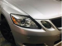 Устранение запотевания фары Lexus GS300