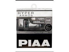 Галогеновые лампы PIAA Н4 HYPER ARROS (3900K)