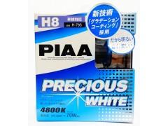 Галогеновые лампы PIAA H8 Precious White (4800K)