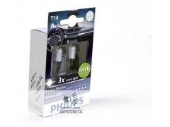 Светодиоды Philips LED T10 (W5W) Vision (+200%) 4000К