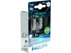 Светодиоды Philips LED T10 4000K X-TremeVision