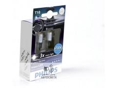 Светодиоды Philips LED T10 (W5W) Vision (+200%) 6700 К