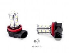 LED-лампа в ПТФ H11 18SMD