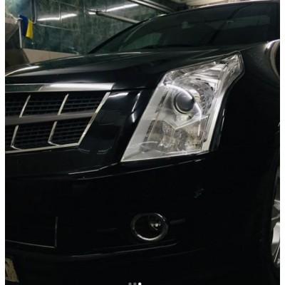 Устранение запотевания фары Cadillac SRX 2