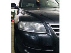 Замена штатных биксеноновых линз Volkswagen Touareg на линзы Hella 3R Premium
