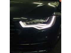 Устранение запотевания фары Audi A6