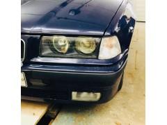 Устранение запотевания фары + установка новых линз в фары BMW 3 E36