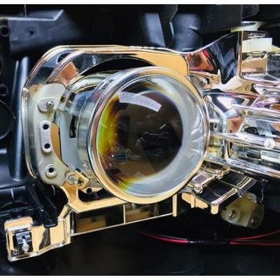 Замена штатных линз Honda CR-V на биксеноновые линзы Galaxy G5