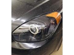 Замена стекла + полировка фары Hyundai Accent