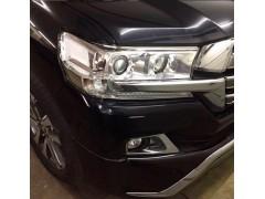 Устранение запотевания фары Toyota Land Cruiser Рестайлинг III