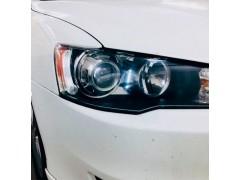 Установка биксеноновых линз Galaxy G5 на Mitsubishi Lancer X