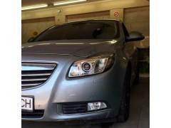 Устранение запотевания фары и ПТФ Opel Insignia + детейлинг