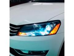 Установка биксеноновых линз Galaxy Q5 на Volkswagen Passat B7