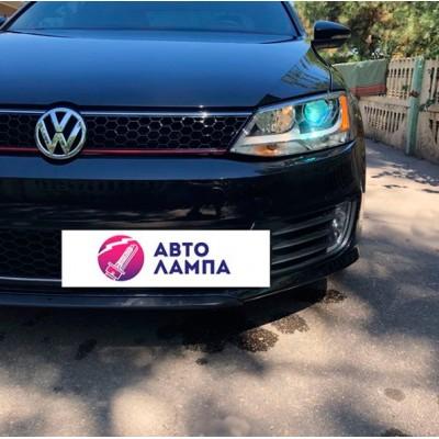 Установка биксеноновых линз Galaxy Q5 D2S на Volkswagen Jetta