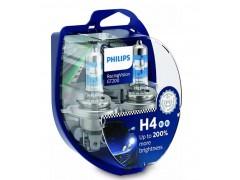 Комплект ламп H4 RacingVision GT200 +200% S2