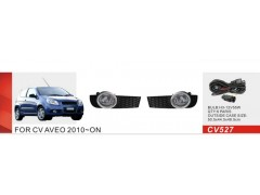 Фары доп.модель Chevrolet Aveo Hatchback/2010-12/CV-527W/эл.проводка (CV-527W)
