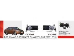 Фары доп.модель Chevrolet Aveo Sedan II/2007-11/CV-304E (CV-304E-W)