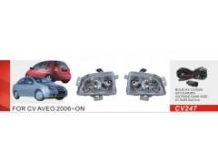 Фары доп.модель Chevrolet Aveo/2006-08/CV-247W/эл.проводка (CV-247W)